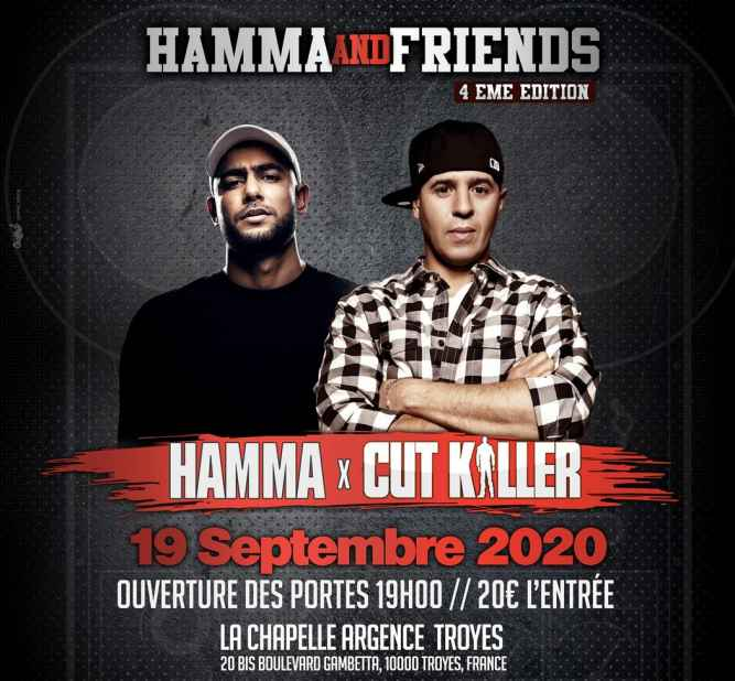 Hamma and Friends avec Cut Killer