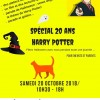 Fête Halloween avec Harry Potter !
