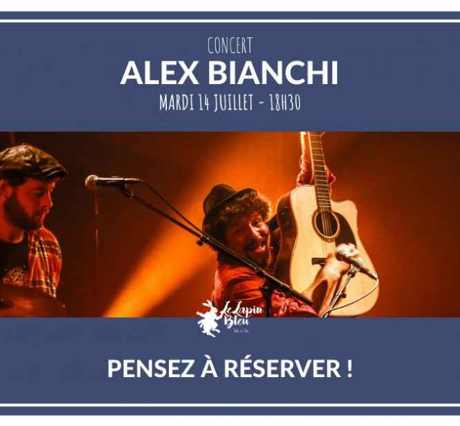Concert Alex Bianchi