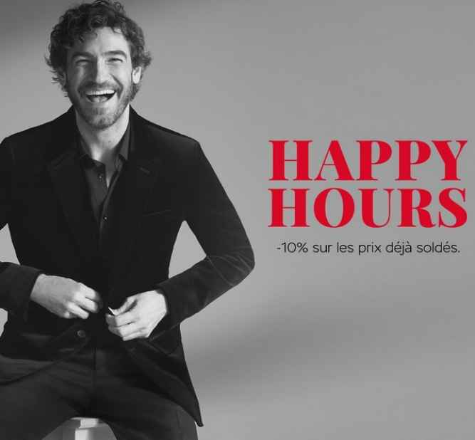Happy Hours - Soldes à McArthurGlen Troyes