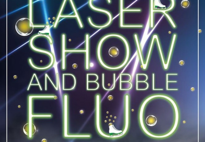 Patinoire des 3 seine - Laser Show and Bubble Fluo
